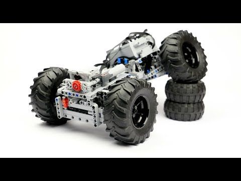 Lego Technic 4 Links Chassis Crawler Building Instructions
