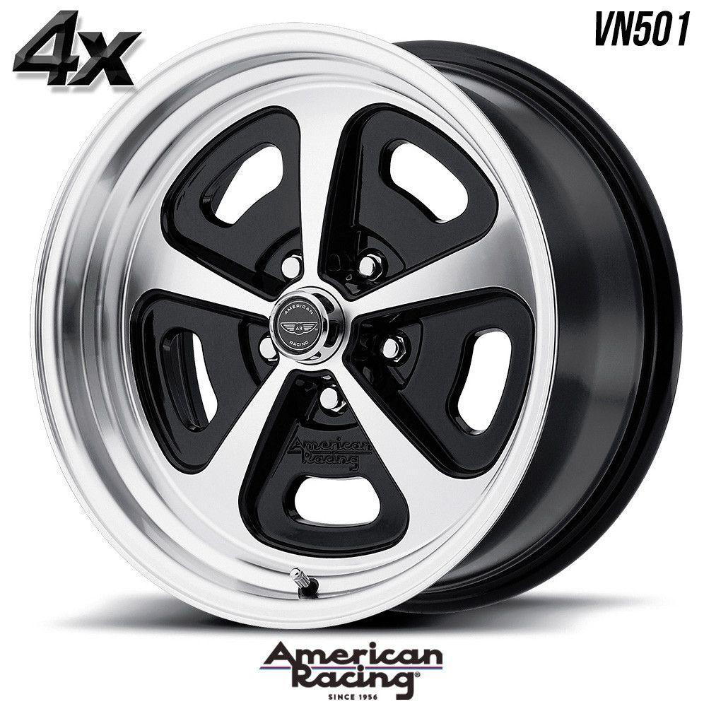 4 American Racing Vn501 17 X7 5x120 65 Gloss Black Ofst 0mm 17 Inch Rims 17x7 Wheels American Racing Black Wheels American Racing Wheels
