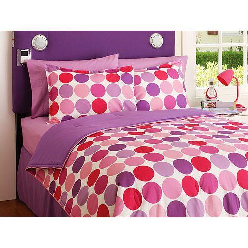 Your Zone Reversible Comforter Sham Set Walmart Com