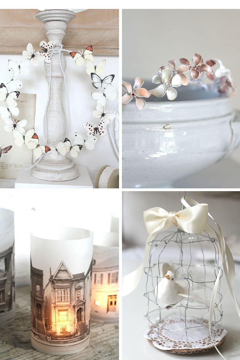 diy bl ten tauchlackblumen brautkrone vintage deko basteln pastell haarreifen dekoblog. Black Bedroom Furniture Sets. Home Design Ideas