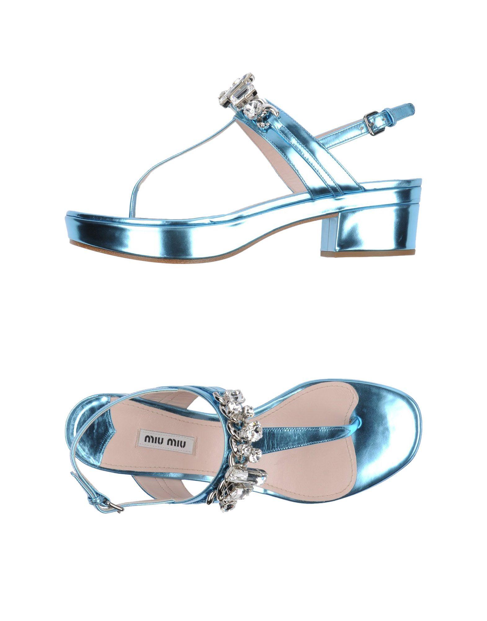 58cd0313da6a Miu Miu Sandals - Women Miu Miu Sandals online on YOOX United States ...