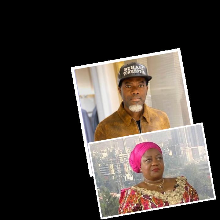 Fear Of Buhari Sent You On Self Exile Lauretta Onochie Fires Shots At Reno Omokri Calls Him A Joker And A Self Tomented Vagabond Joker Vagabond Reno