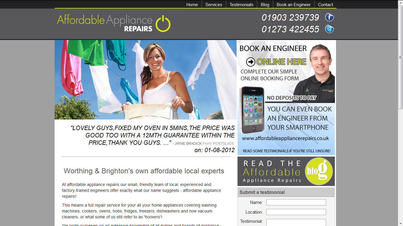 Full Web Design Service http://www.retrieverwebsolutions ...