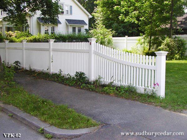 Vinyl Fence Gallery Sudbury Cedar Company
