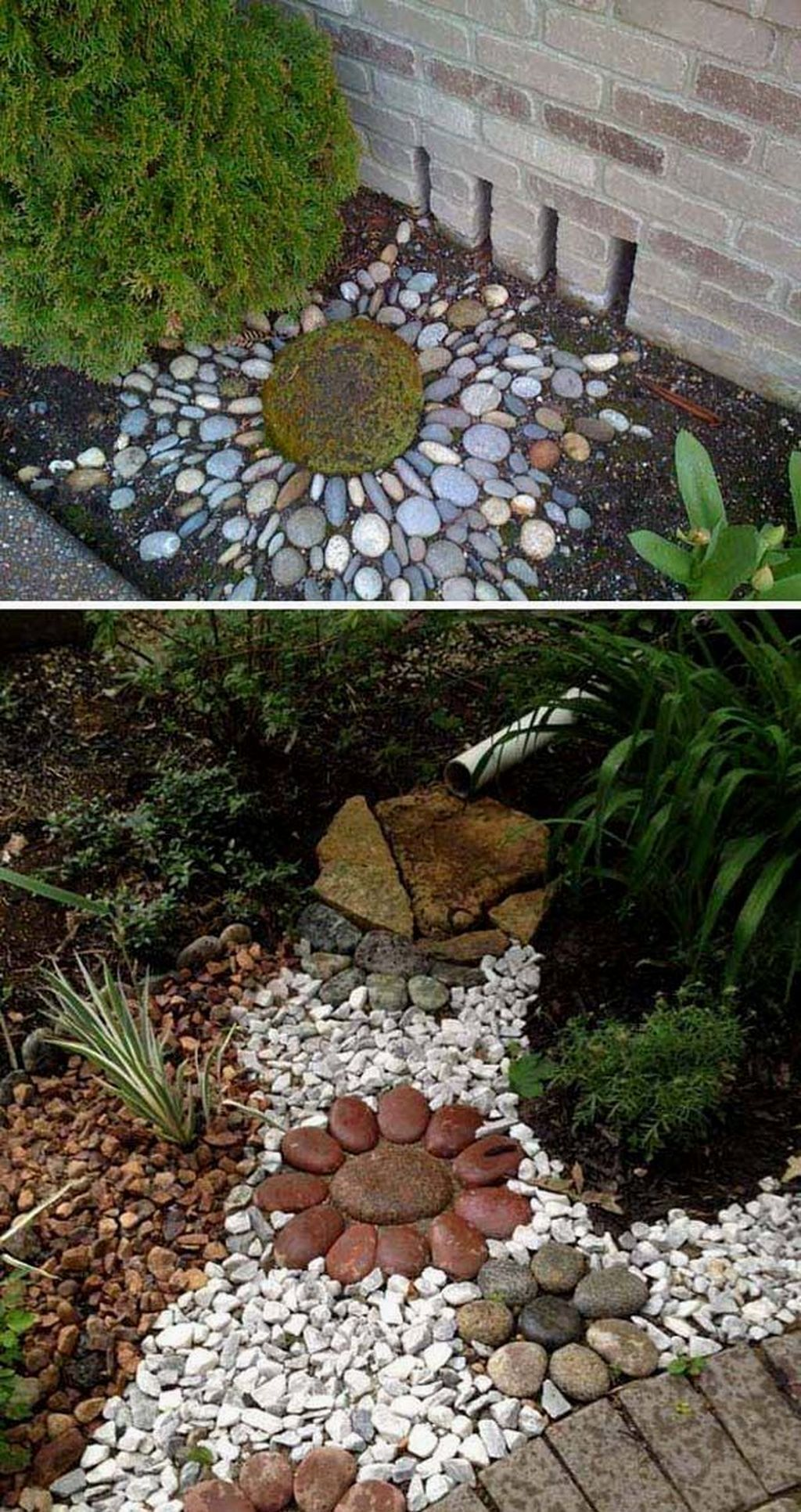 40+ Pebble Patio Ideas  The Stone Decor Has To
