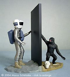 Coolest Diorama Ever Period 2001 A Space Odyssey Space Odyssey Alien Artwork