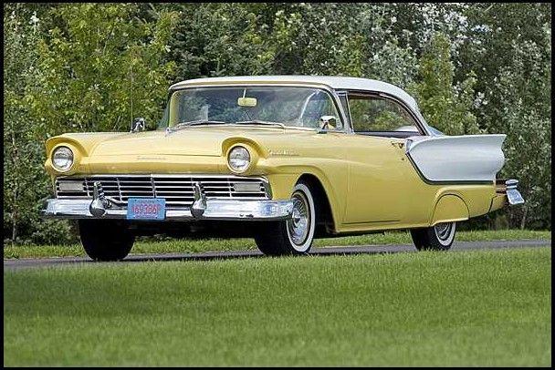 1957 ford fairlane 2 door hardtop 292 ci 3 speed for 1957 ford 2 door