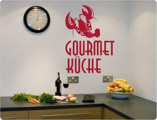 Gourmet-Küche Wandtattoo Wandtattoo Küche Kochen, Würzen, Essen - wandtattoo küche guten appetit