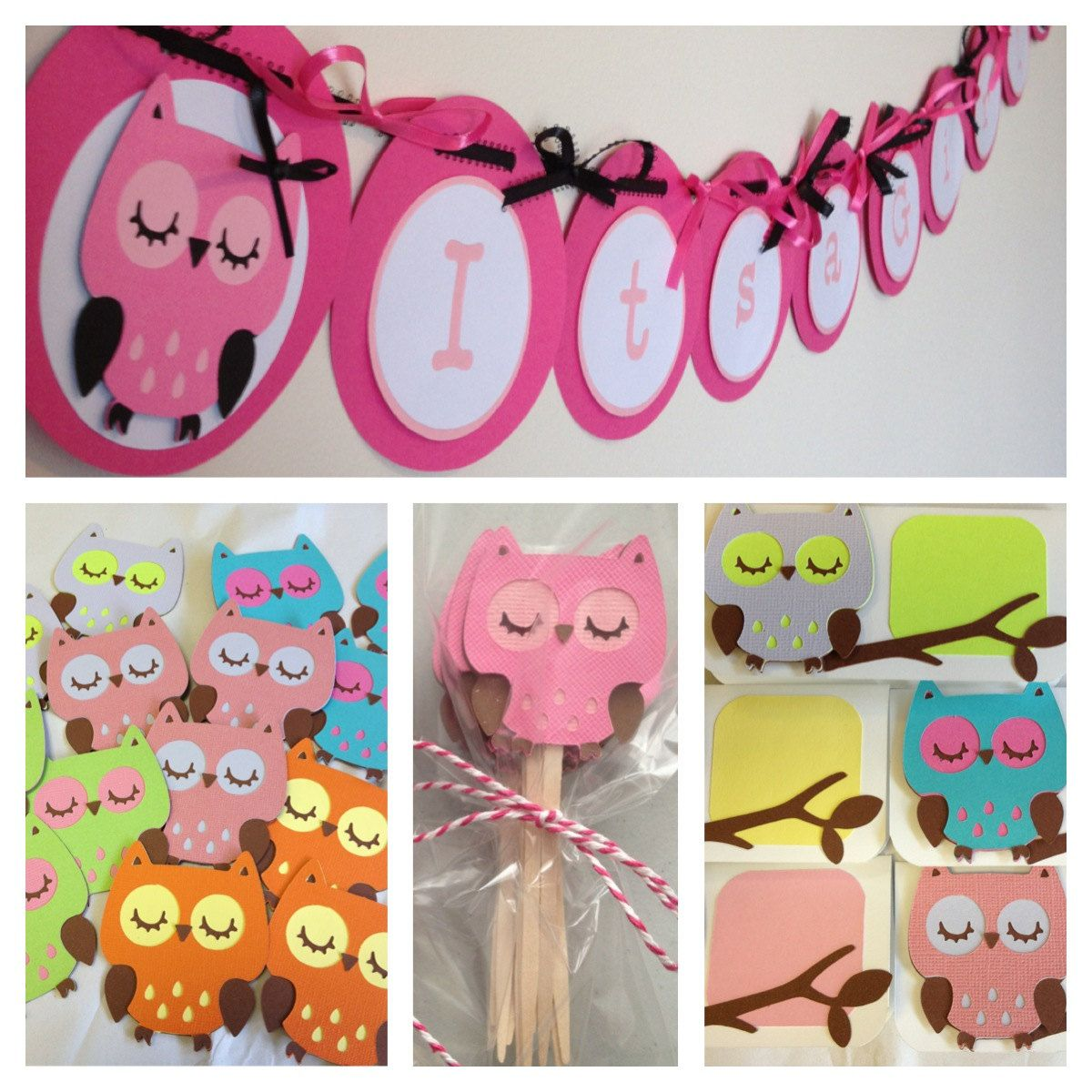 Owl Party Decoration With Images Owl Birthday Parties Owl