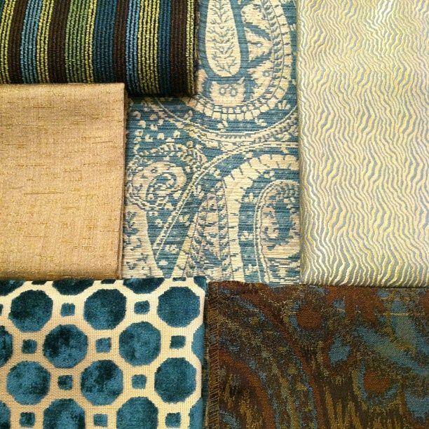 Flexsteel Fabric Swatch Feeling A Bit