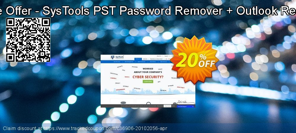 Bundle Offer - SysTools PST Password Remover + Outlook Recovery