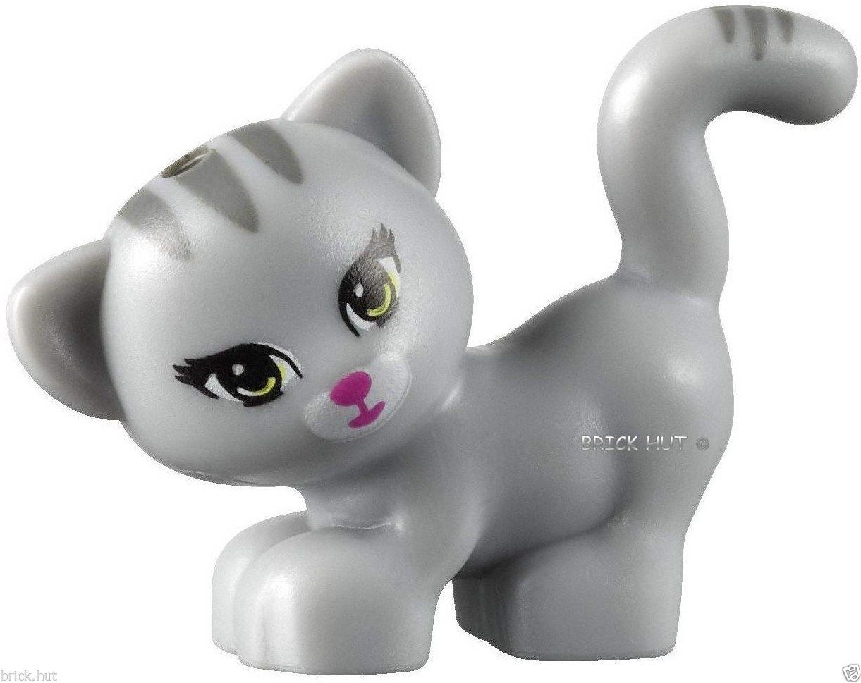 Lego Friends Animals 1 X Standing Cat Figure Vfast 30653189