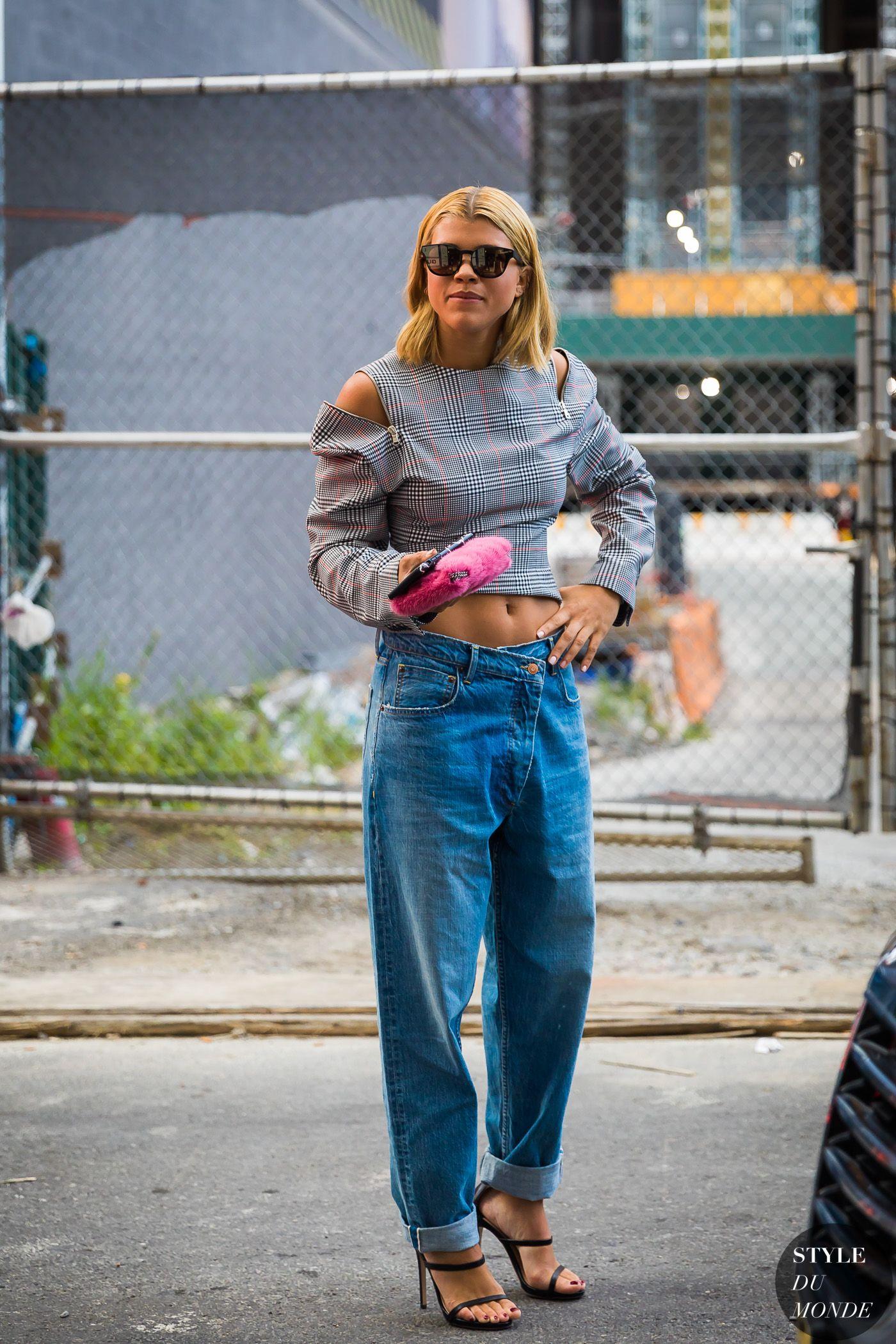 New York SS Street Style Sofia Richie Street Fashion