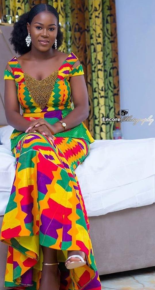 Kente Wedding Dress African Fashion Designers Latest African Fashion Dresses African Clothing