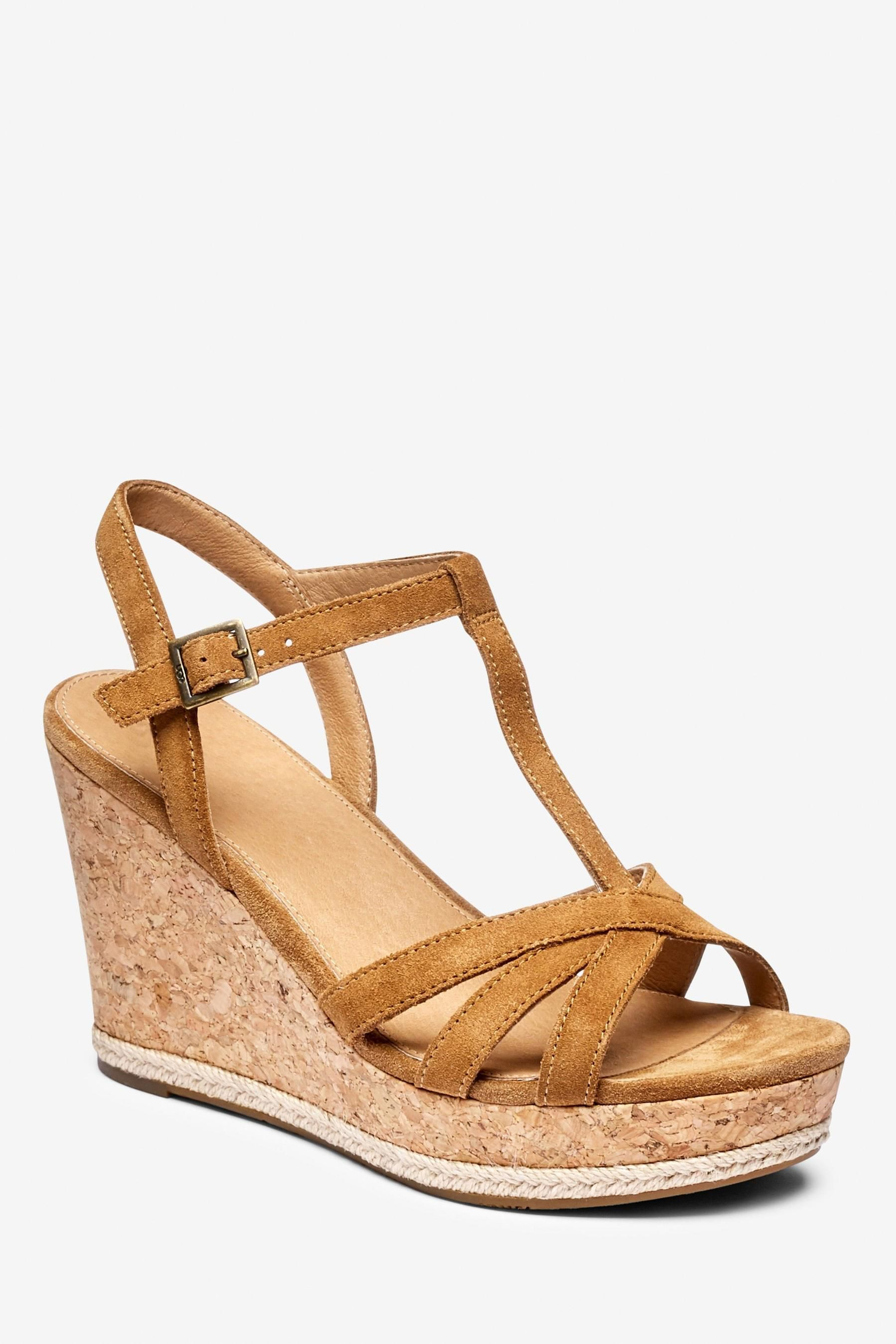 Strappy sandals wedge, Strappy wedges