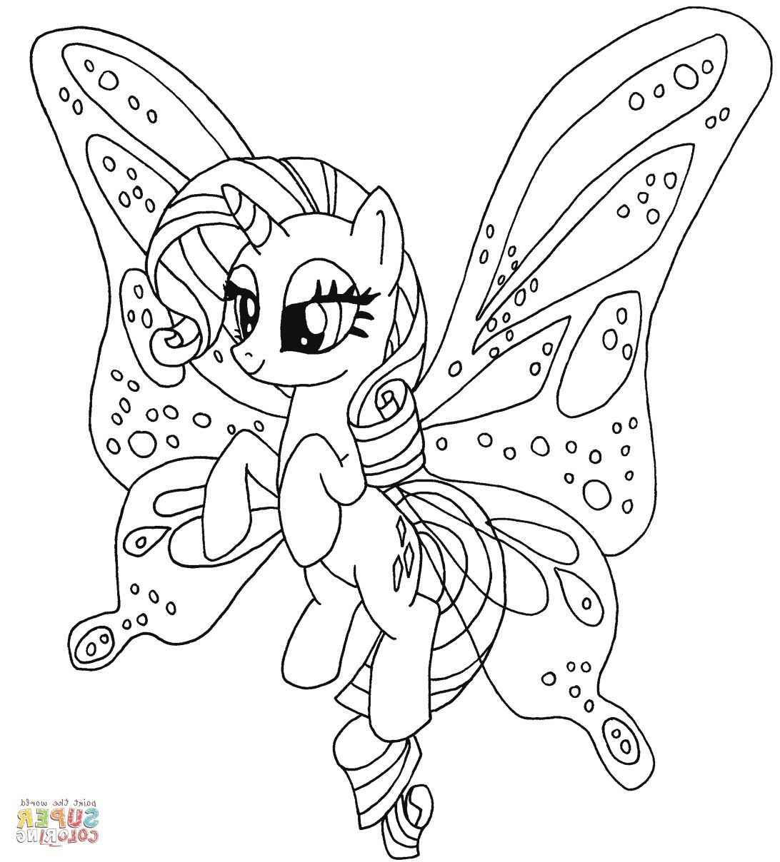 Ponies Coloring   Coloring Page   Pinterest   Pony, MLP and Coloring ...