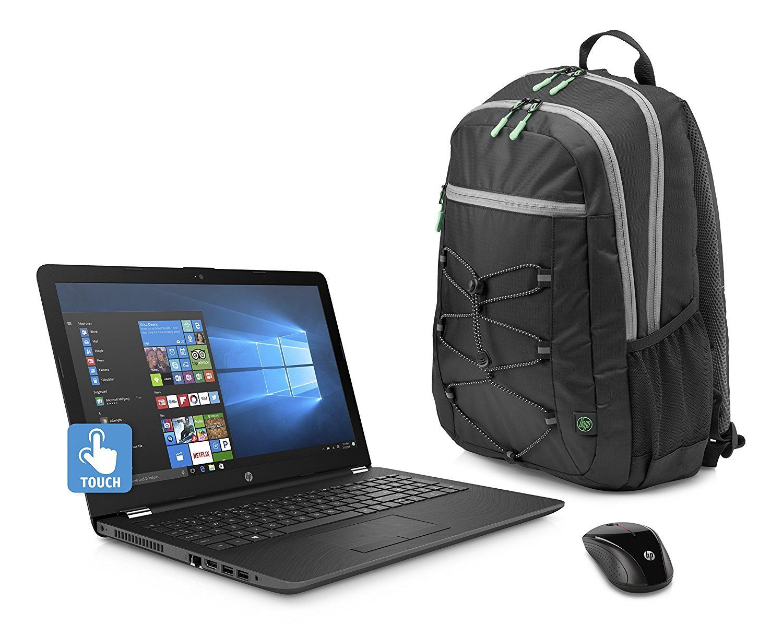 2018 Hp Business 15 6 Inch Hd Touchscreen Laptop Pc Quad Core Amd
