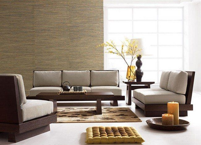 Decorating Of A Japanese Living Room - Decor Around The World | Living Room Sets Furniture, Wooden Sofa Designs, Japanese Living Rooms