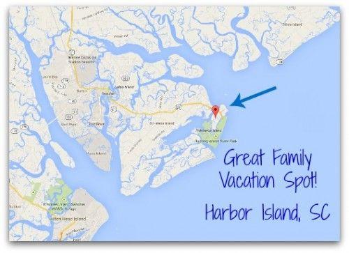 South Carolina Map Islands.Harbor Island South Carolina A Hidden Gem For Families Great