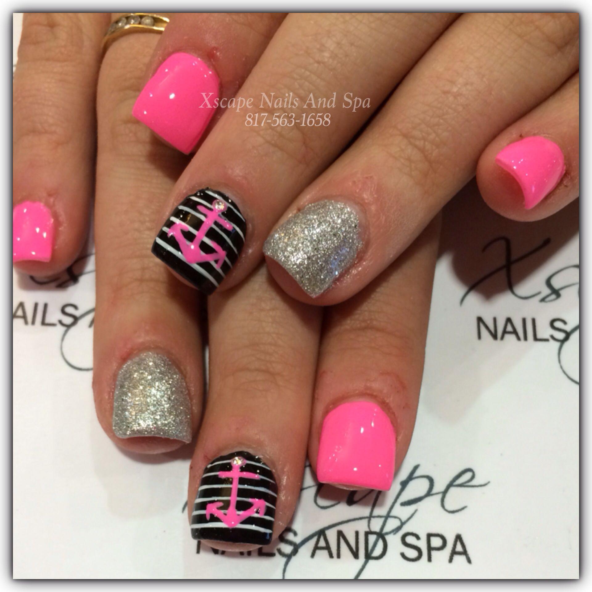 Anchor Nail Designs Nails Pinterest Anchor Nail Designs