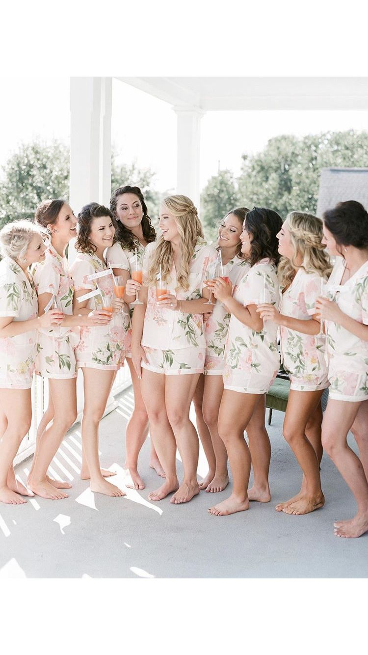 Plum Pretty Sugar In 2019 Bridesmaid Pyjamas Bridal