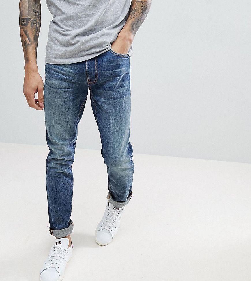 Nudie Jeans LEAN DEAN - Vaqueros slim fit - lost legend y6UxR6wYY