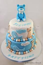 Risultati immagini per torte battesimo bimbo pasta di zucchero