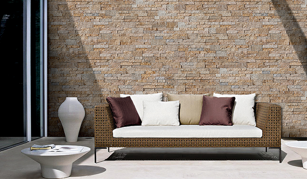 Decopanel paneles de piedra para decoraci n interior for Piedra para muros interiores