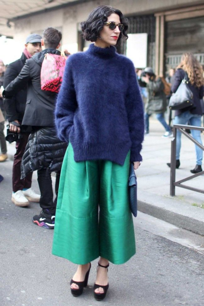 Who's that girl? The street style names to know.  Yasmin Sewell.