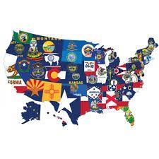 Visitar Los 50 Estados Unidos Estados Unidos De América 50 Estados Estados Unidos