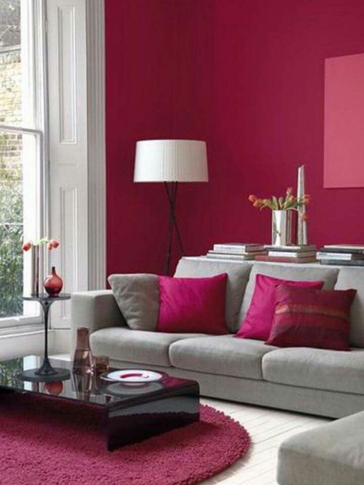 Pin by Debby on Woonkamer Pinterest Raspberry, Decor room and - wohnzimmer grau rosa
