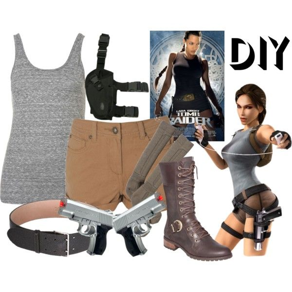 "Tomb Raider Costume: ""Tomb Raider Lara Croft"" By Effyeahclothes On Polyvore"