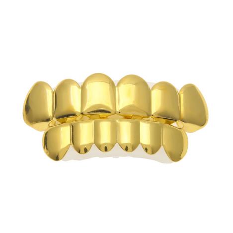 Gold Grillz Dentes De Ouro Dentes De Vampiro Grills Dentes