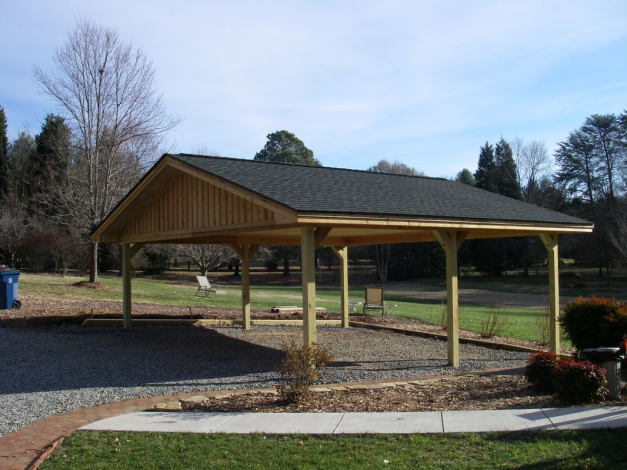 24x24 Post Framed Carport Shedplans In 2020 With Images Carport Plans Carport Prices Diy Carport