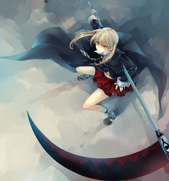Soul Eater - Maka Albarn art,so cool.