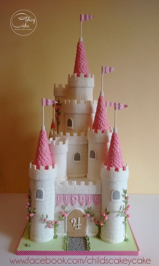 Princess Castle Cake With Images Fairy Castle Cake Castle