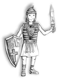 Armor Of God Coloring Page Learning Air Duct Cleaning Memphis Tn