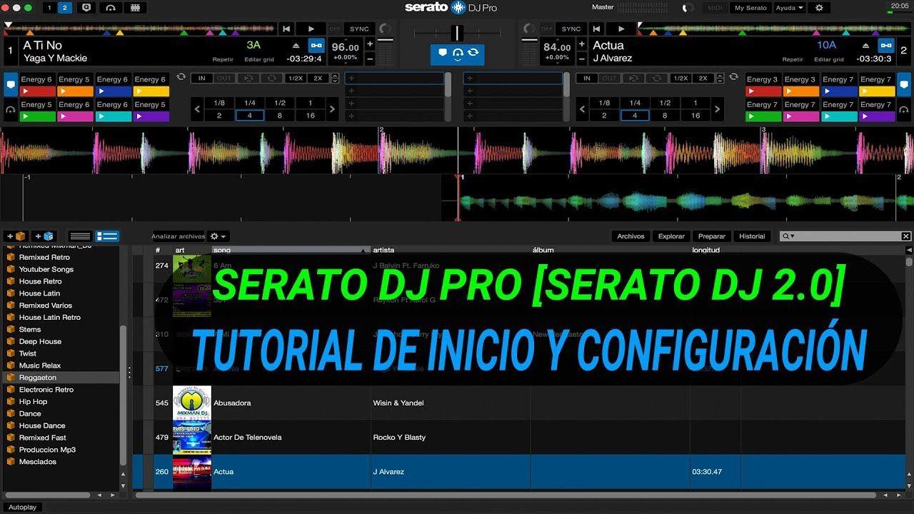 Comprimir Video Sin Perder Calidad Serato Dj Pro Tutorial De Inicio Y Configuracion Serato Dj 2 0