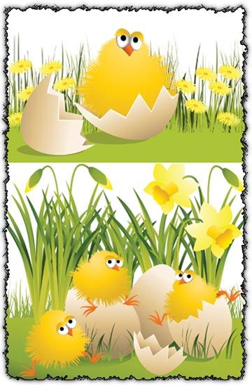 Chicken Template How about these easter chickens templates You - easter powerpoint template