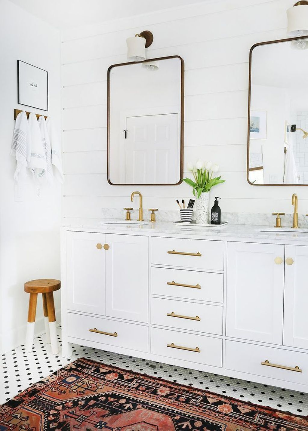 20 Totally Inspiring Bathroom Rug Design To Make It Better
