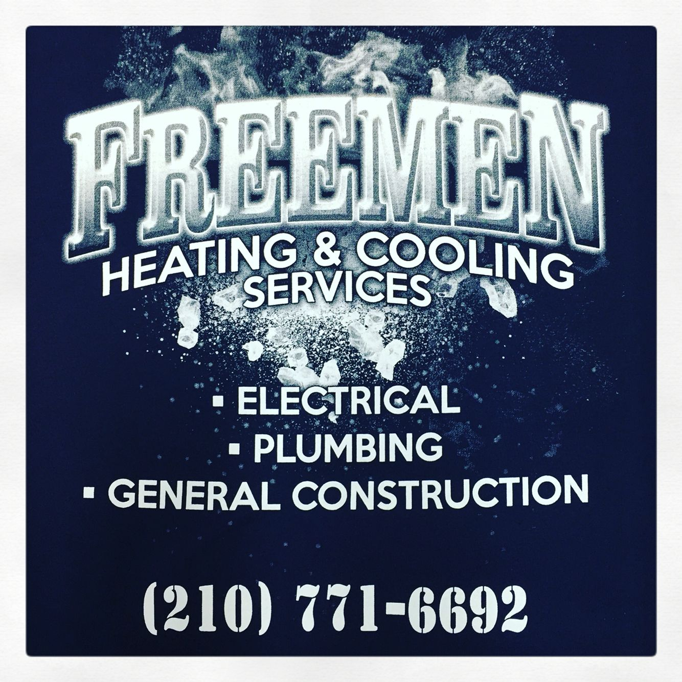 Freemen Heating Cooling Good Example Of A 1 Color T Shirt