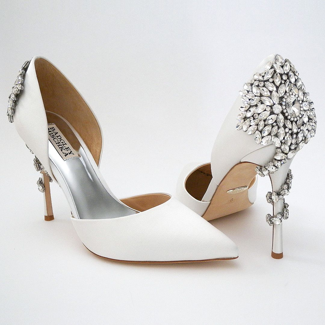 Wedding shoes, Wedding heels, Bride shoes