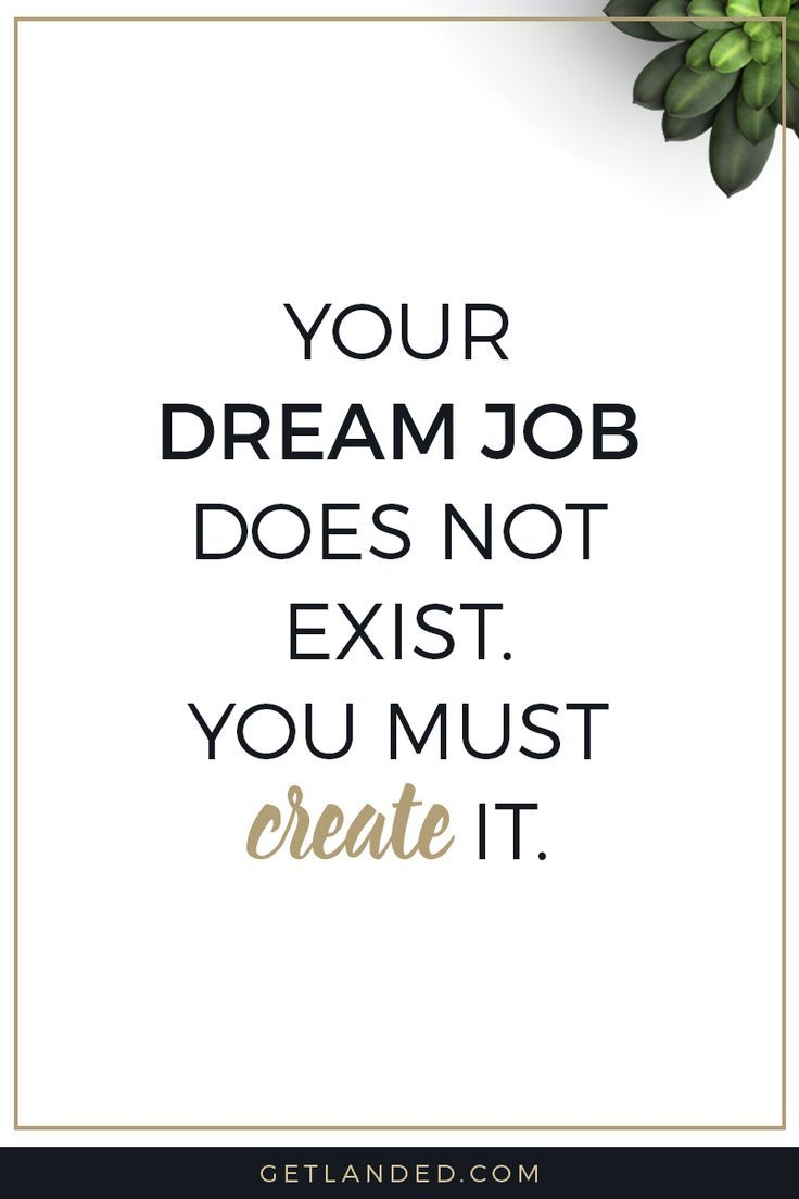 Career Tips And Advice / Inspirational Quotes / Job Search Tips