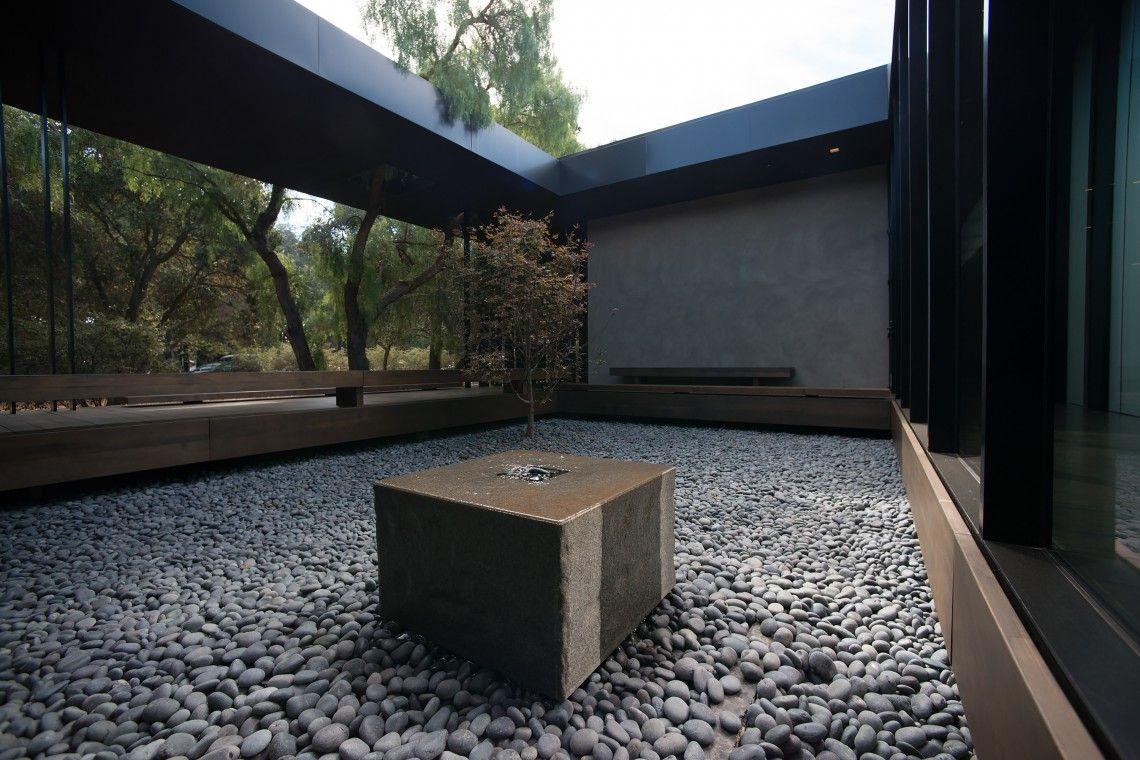 Windhover contemplative center stanford university for Diseno exterior casa contemporanea