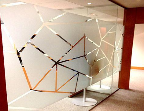 Impresi n vinilos al cido para oficinas vinils for Vinilos para oficinas