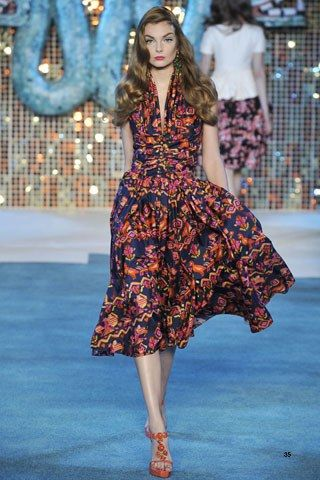 Christian Dior Resort 2009 Fashion Show - Eniko Mihalik