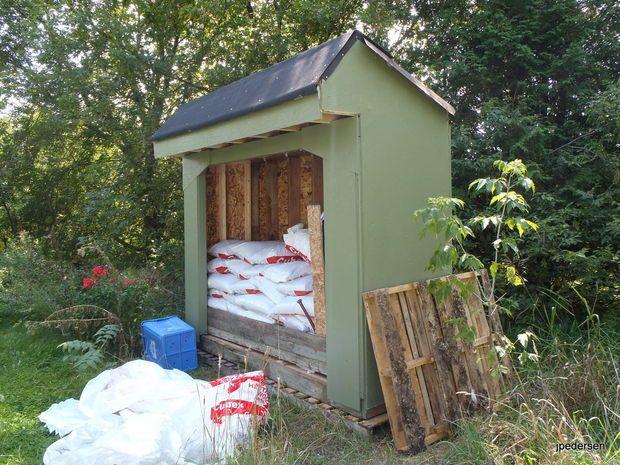 Wood Pellet Storage Shed Wood Pellets Shed Storage Shed