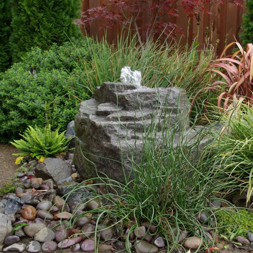 Mountain Spring Pondless Fountain | Enchanted Garden