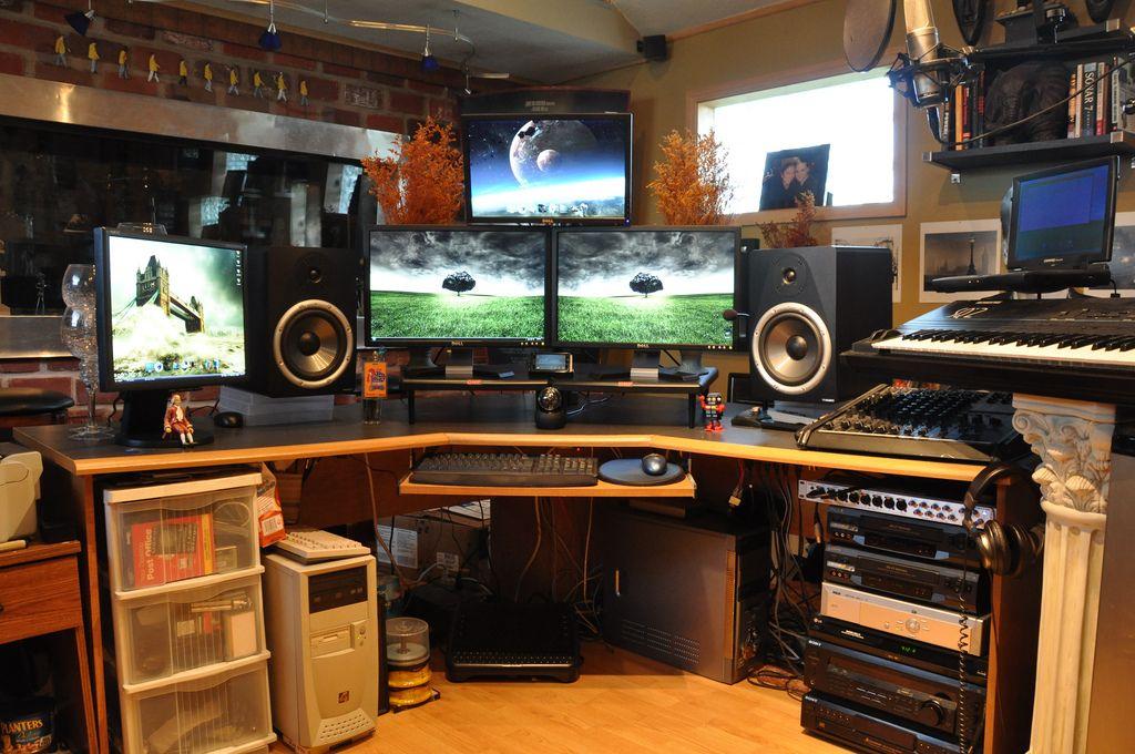 Wondrous 17 Best Images About Home Music Studio On Pinterest Studios Largest Home Design Picture Inspirations Pitcheantrous