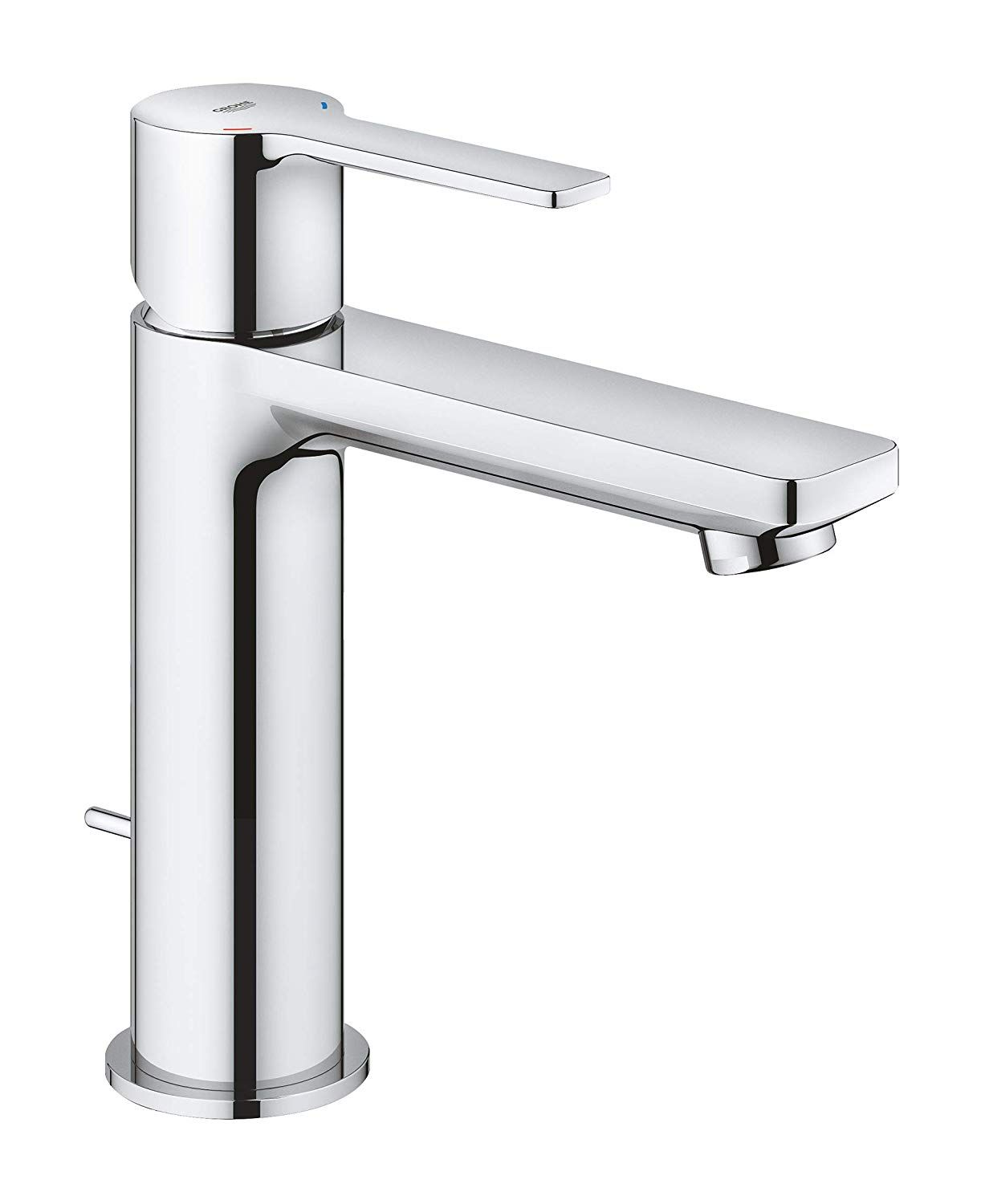 Grohe 2379400a Lineare Single Handle Bathroom Faucet S Size In Starlight Chrome Be Bathroom Faucets Single Handle Bathroom Faucet Bathroom Faucets Chrome [ 1500 x 1222 Pixel ]